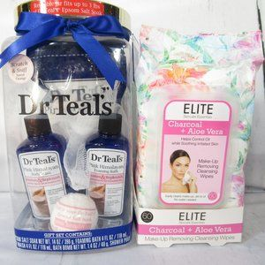 FREE @ $35 Dr. Teal Gift Pack Facial Wipes Bundle